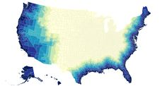 @Mike Bostock Graph distance to the coast for U.S. counties. http://bl.ocks.org/mbostock/9744818 … #d3js #topojson pic.twitter.com/DO2sWy3ojj