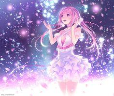 Kawaii and moe Anime Girls, Anime Girl Pink, Manga Art, Manga Anime, Anime Art, Anime Chibi, Vocaloid, Neko, Anime Galaxy