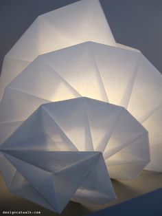 Artemide (lamps) influenced by Issey Miyake and…Japonism
