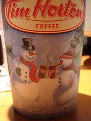 Going to turn my office door into a Tim Horton's Holiday Cup for the door decoration contest. Tim Hortons Coffee, Coca Cola Polar Bear, Steaming Cup, Coffee Cup Design, Canada Eh, Do Anything, Snowmen, Nutella, Cheer