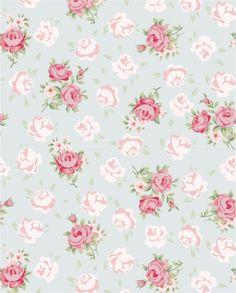 Papel de parede Floral Delicado, ótima opção para qualquer cantinho da sua Casa! Faça o teste e comprove.