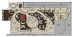 airport lounge floor plan - Google Search