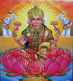 The Ascended Masters Series – Lakshmi. Goddess of Abundance and Prosperity