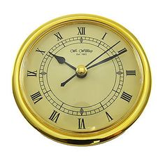 Quartz #replacement clock movement 110mm diameter gold #bezel for 80mm #insert ho,  View more on the LINK: http://www.zeppy.io/product/gb/2/381536291950/