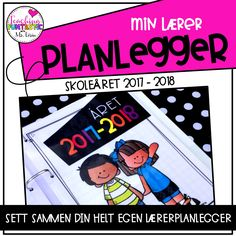 Lærerplanlegger Digital 2017-2018 Printer, Teaching, Baseball Cards, Digital, Design, Printers, Education, Onderwijs