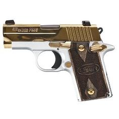 Sig Sauer 238-380-WAU P238 Pistol .380 ACP 2.72in 6rd White Gold Slide for sale at Tombstone Tactical.