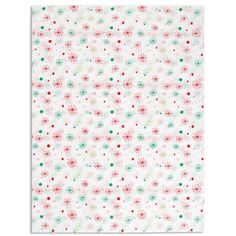 Spruce up a shopping bag, add pizzazz to gift boxes, or use as gift wrap. This attractive printed tissue from S. Walter completes any packaging look. #tissue #christmas #seasons #greetings #snowflakes