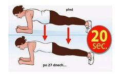 Chcete změnit své tělo za pouhé 4 minuty? 27 denní výzva – DRŽENÍ PRKNA