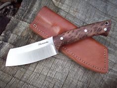 Modified nessmuk knife