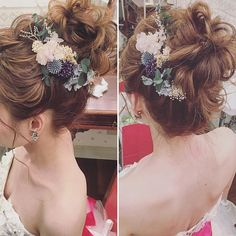 90 easy hairstyles for naturally curly hair - Hairstyles Trends Bride Hairstyles, Trendy Hairstyles, Vintage Curls, Curly Hair Problems, Bridal Hairdo, Curly Wedding Hair, Hair Arrange, Bridal Hair Accessories, Hair Trends