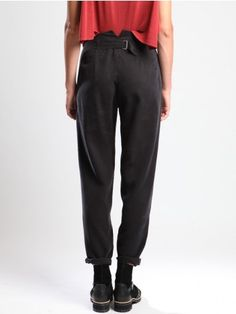 DARTED TROUSERS - JACKETS, JUMPSUITS, DRESSES, TROUSERS, SKIRTS, JERSEY, KNITWEAR, ACCESORIES - Woman -