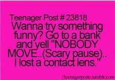 So true. Ima try that