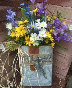 Tin wall bucket/Spring