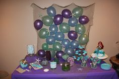 Under the Sea/ Mermaid Birthday Party Ideas | Photo 4 of 30