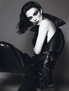 Love the top! Keira Knightly in Interview Mag April Issue. xoxo, k2obykarenko.com