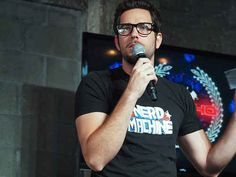 You just want to be closer to the microphone and his nerdy, nerdy heart.
