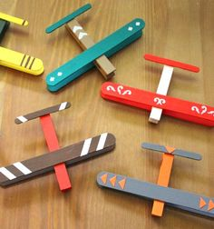 Játék repülő jégkrém pálcikából és csipeszből gyerekeknek / Mindy -  kreatív ötletek és dekorációk minden napra