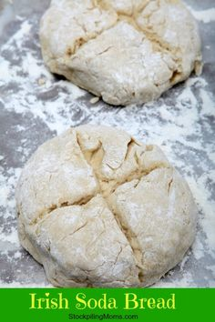 I always make this Traditional Irish Soda Bread on St. Patrick's Day to celebrate my Irish roots. #irish #stpattysday #bread