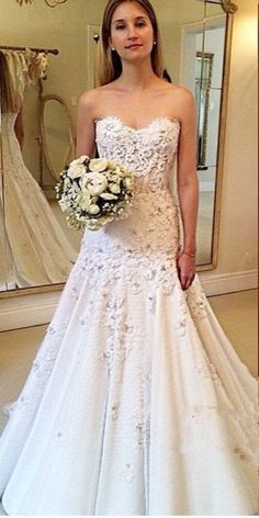 d13ad6239fcc Wedding Dresses, Wedding Dresses 2018, Sweetheart Wedding Dresses, Applique Wedding  Dresses, Custom Made Wedding Dresses, Elegant Wedding Gowns, ...