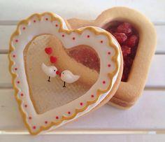 Galleta - Cofre de dulces San Valentín   Cookie - Sweets Box Valentine's Day: