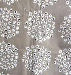 Marimekko fabric Puketti PVC-covered piece in beige