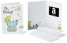 Amazon.com $25 Gift Card in a Greeting Card (Oh, Baby! Design)