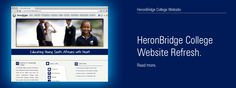 The HeronBridge College website has recently been overhauled by One Part Scissors. The new website is built on Drupal. College Website, Drupal, Scissors, Education, Reading, Design, Word Reading, Bicycle Kick, Design Comics