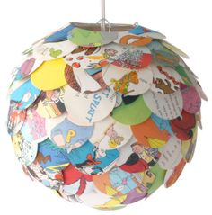 The Manhasset Children's Book Pendant, Shade Only - contemporary - Lighting Globes And Shades - Zipper 8 Lighting