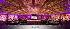 Hyatt Long Beach Wedding Reception | Raajeev & Elaine