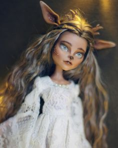 "569 Likes, 5 Comments - Luciana Romanskaya (@luciana_dolls) on Instagram: ""Silentia the Deer✨ last girl in this year. She's looking for new home !❤️ link to my shop in…"""