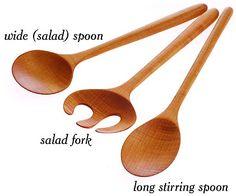 Wooden Salad Utensils