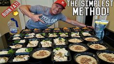 How To Meal Prep For The Entire Week | Bodybuilding Shredding Diet Meal ...