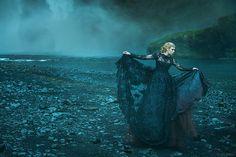 Black falls by Miss Aniela, via Flickr