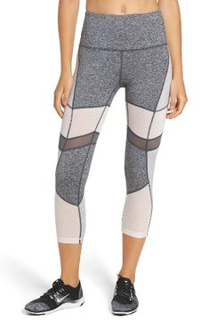 b7f2c6aec2 Free shipping and returns on Zella Turning Point High Waist Crop Leggings  at Nordstrom.com