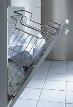 koš na prádlo 300mm Chrom | Nábytkové kování M-KUPR