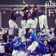 One of these teams has some more celebrating in its future.  The question is – which one? #ALCS