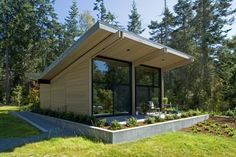 Whidbey Island Cabin by CHESMORE|BUCK Architecture