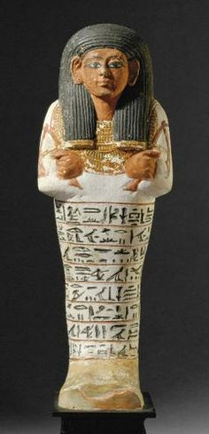 Ushabti of Sennedjem | | 19th Dynasty, around 1300 v. Chr