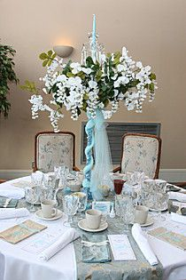 wisteria centerpiece