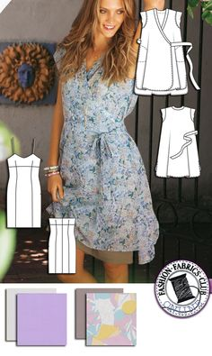 Burda Style Summer Wrap Dress Pattern 2019 dress pattern dress pattern free dress pattern uk dress sew house seven dress tutorial length dress patterns Dress Pattern Fashions 2019 Tea Summer Fashion Dress 2019 Dress Patterns Uk, Dress Making Patterns, Clothing Patterns, Sewing Patterns, Apron Patterns, Burda Patterns, Fashion Fabric, Diy Fashion, Medieval Clothing
