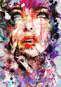 ILLUSTRATION WORK - Yossi Kotler is a painter and graphic designer based in Tel Aviv, Israel. His artworks are very colorful and strong with a lot of layers.