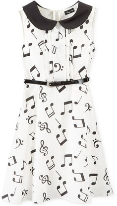 Ruby Rox Girls' Music Note Dress on shopstyle.com
