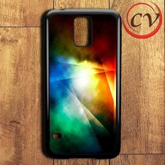 Outer Rainbow Space Samsung Galaxy S5 Case