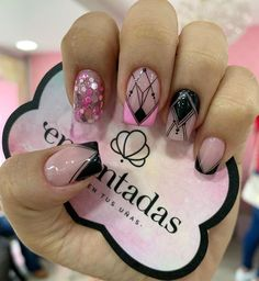 Beauty Spa, Beauty Nails, Diy Beauty, Pink Acrylic Nails, Pink Nails, Perfect Nails, Gorgeous Nails, Pink Wallpaper Iphone, Cute Nail Art