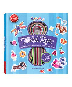 Twirled Paper Craft Set #zulilyfinds