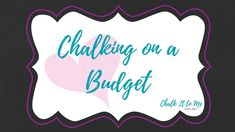 Chalking on a Budget - Volume 1 - See what you can make with Chalk Couture products and bargain finds from Target! Need Chalk Couture products? No problem! You can get yours at https://chalkittome.chalkcouture.com . For more tutorials and project ideas, come join my crafting community at https://www.facebook.com/groups/ChalkItToMeWithJen/.