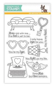 Simon Says Clear Stamps OBJECTS OF LOVE SSS101378 *