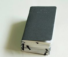 Charcoal Pocket Notebook Handmade By Mossery by MosseryCo on Etsy, $5.00
