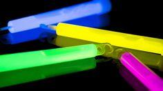 The hazards of glow sticks