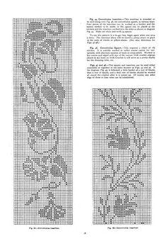 Mary Card's crochet book. no. 4 : containing designs & charts in the new filet crochet for Australian and New Zealand crochet workers.. - Page 18